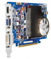 HP GeForce GT 130 500Mhz PCI-E 2.0 768Mb 1020Mhz 192 bit DVI HDMI HDCP