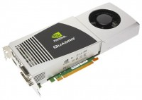 HP Quadro FX 5800 650Mhz PCI-E 2.0 4096Mb 1600Mhz 512 bit 2xDVI
