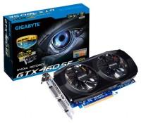 GIGABYTE GeForce GTX 460 SE 730Mhz PCI-E 2.0 1024Mb 3400Mhz 256 bit 2xDVI Mini-HDMI HDCP