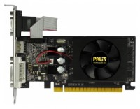 Palit GeForce GT 520 810Mhz PCI-E 2.0 1024Mb 1070Mhz 64 bit DVI HDMI HDCP Cool
