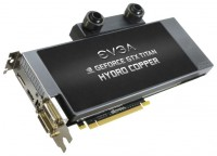 EVGA GeForce GTX TITAN 928Mhz PCI-E 3.0 6144Mb 6008Mhz 384 bit 2xDVI HDMI HDCP Signature
