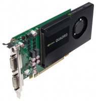 Leadtek Quadro K2000D PCI-E 2.0 2048Mb 128 bit 2xDVI