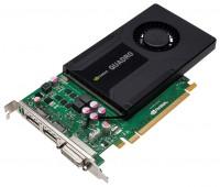 Leadtek Quadro K2000 PCI-E 2.0 2048Mb 128 bit DVI