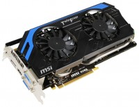 MSI GeForce GTX 660 1085Mhz PCI-E 3.0 2048Mb 6008Mhz 192 bit 2xDVI HDMI HDCP
