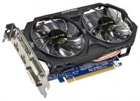 GIGABYTE GeForce GTX 750 Ti 1033Mhz PCI-E 3.0 2048Mb 5400Mhz 128 bit 2xDVI 2xHDMI HDCP
