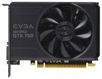 EVGA GeForce GTX 750 1020Mhz PCI-E 3.0 1024Mb 5012Mhz 128 bit DVI HDMI HDCP