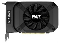Palit GeForce GTX 750 Ti 1020Mhz PCI-E 3.0 1024Mb 5400Mhz 128 bit DVI Mini-HDMI HDCP