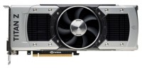 Gainward GeForce GTX TITAN Z 705Mhz PCI-E 3.0 12288Mb 7000Mhz 768 bit 2xDVI HDMI HDCP