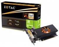 ZOTAC GeForce GT 740 993Mhz PCI-E 3.0 2048Mb 1782Mhz 128 bit DVI HDMI HDCP Low Profile