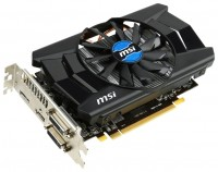 MSI Radeon R7 260X 1100Mhz PCI-E 3.0 2048Mb 6000Mhz 128 bit 2xDVI HDMI HDCP