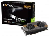 ZOTAC GeForce GTX 980 1202Mhz PCI-E 3.0 4096Mb 7046Mhz 256 bit DVI HDMI HDCP