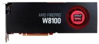 AMD FirePro W8100 824Mhz PCI-E 3.0 8192Mb 512 bit