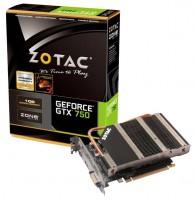 ZOTAC GeForce GTX 750 1033Mhz PCI-E 3.0 1024Mb 5000Mhz 128 bit DVI HDMI HDCP Silent