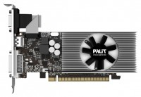 Palit GeForce GT 730 700Mhz PCI-E 2.0 2048Mb 1400Mhz 128 bit DVI HDMI HDCP Cool