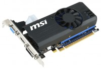 MSI GeForce GT 730 1006Mhz PCI-E 2.0 2048Mb 5000Mhz 64 bit DVI HDMI HDCP