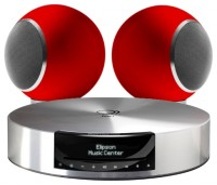 Elipson Music System MC 1L High Gloss Red
