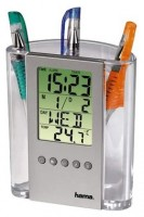HAMA LCD Thermometer & Pen Holder