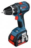 Bosch GSR 18 V-LI 3.0Ah x2 LS-BOXX Set