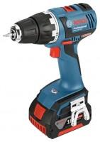 Bosch GSR 18 V-EC 4.0Ah x2 L-BOXX