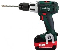 Metabo SB 18 LT 4.0Ah x2 Case Set1