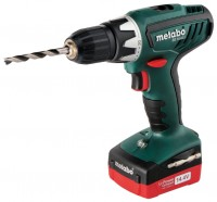 Metabo BS 14.4 Li 1.5Ah x2 Case Set