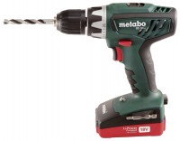 Metabo BS 18 Li 1.5Ah x2 Case Set