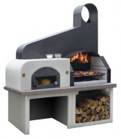 Palazzetti MAXIME 2 unpainted Grill module with oven