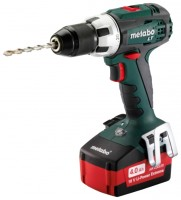 Metabo BS 18 LT 5.2Ah x2 Case