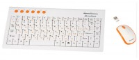 Mediana KM-313 White-Orange USB