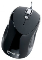 Revoltec Wired Mouse W101 Black USB
