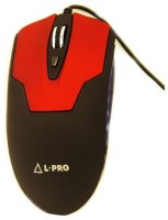 L-PRO 1058 Black-Red USB