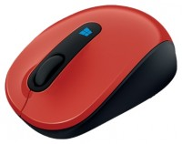 Microsoft Sculpt Mobile Mouse Red USB