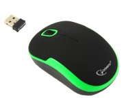 Gembird MUSW-200 Black-Green USB