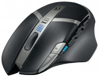 Logitech G602 Wireless Gaming MouseBlack USB