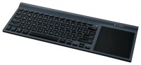 Logitech Wireless All-in-One Keyboard TK820 Black USB