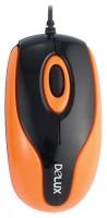 Delux DLM-363B Black-Orange USB