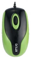 Delux DLM-363B Black-Green USB