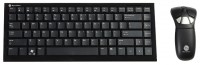 Gyration Air Mouse GO Plus Compact Keyboard 88-key Black USB