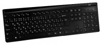 ACME WS06 Piano wireless multimedia keyboard Black USB
