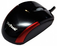 DeTech DE-2061 Black-Red USB