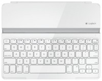 Logitech Ultrathin Keyboard Cover White Bluetooth