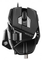 Mad Catz M.M.O. 7 Gaming Mouse Gloss Black USB