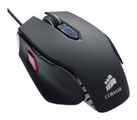 Corsair Vengeance M65 FPS Laser Gaming Mouse Gunmetal Black USB
