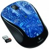 Logitech Wireless mouse M325 Blue smile USB