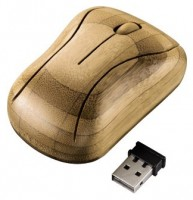HAMA H-53859 Bamboo Brown USB