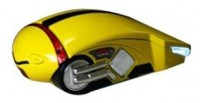 3Cott Racing mouse 1200 Yellow USB