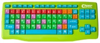 Clever Toys Wireless keyboard Green USB