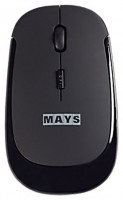 MAYS WMN-210g Black-Green USB