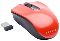 Oklick 565SW Black Cordless Optical Mouse Red-Black USB