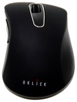 Oklick 335MW Cordless Optical Mouse Black USB